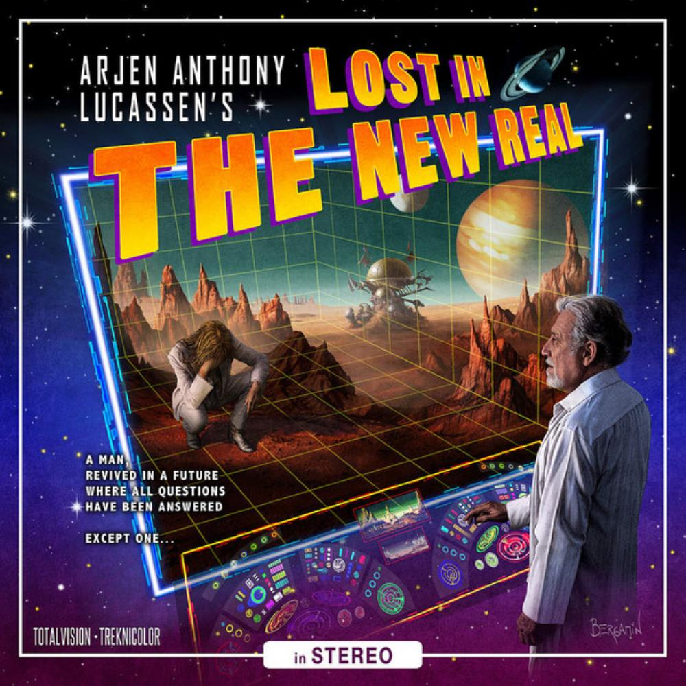 Arjen Anthony Lucassen - Lost In The New Real CD (album) cover