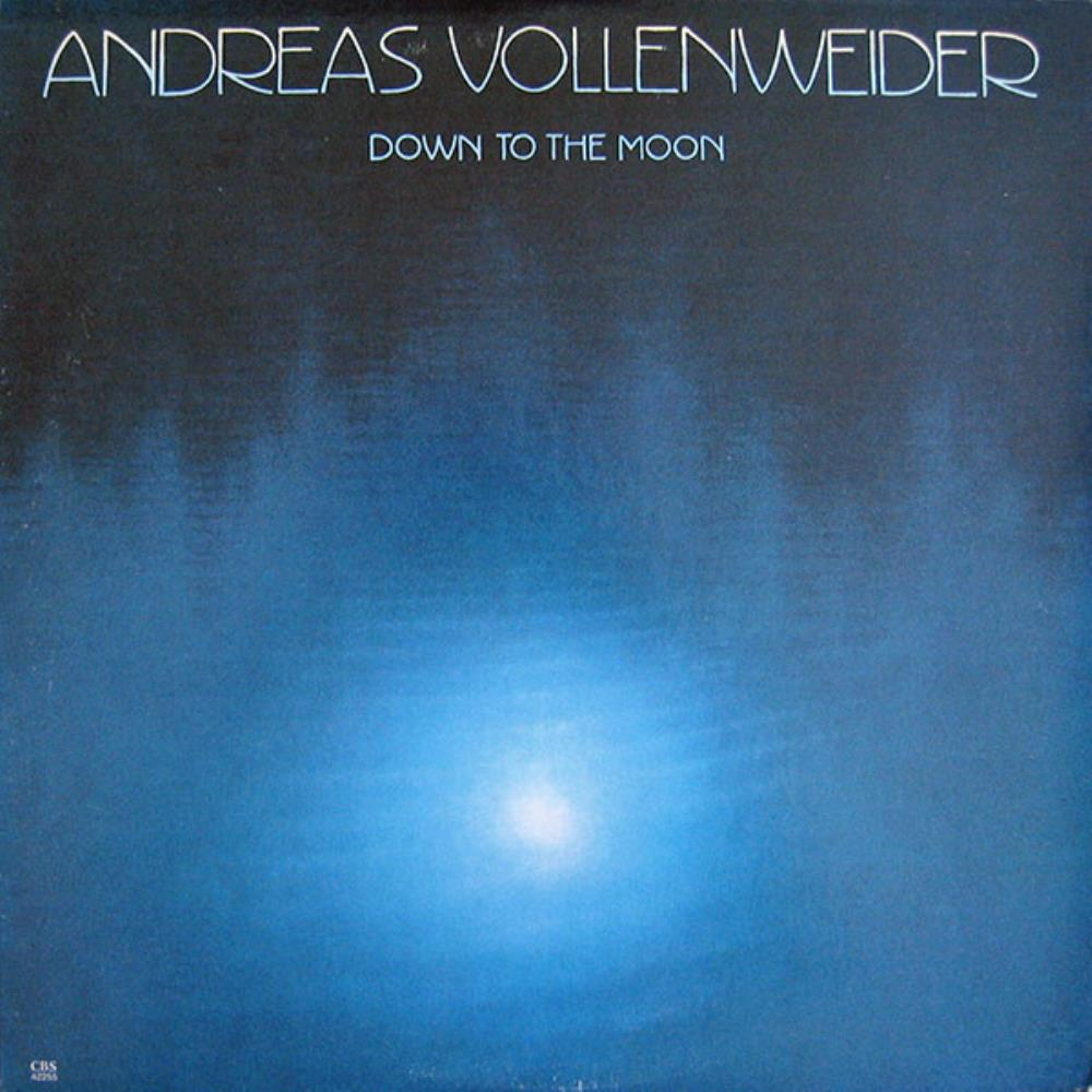 Andreas Vollenweider Down To The Moon album cover