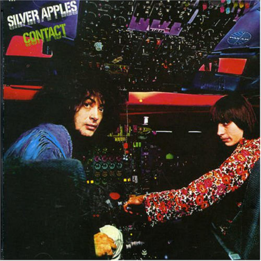 Contact by SILVER APPLES album cover