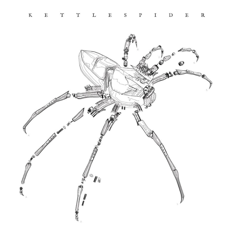 Kettlespider - Kettlespider CD (album) cover