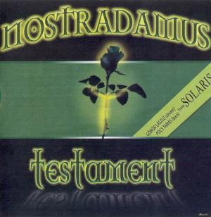 Testament by NOSTRADAMUS album cover