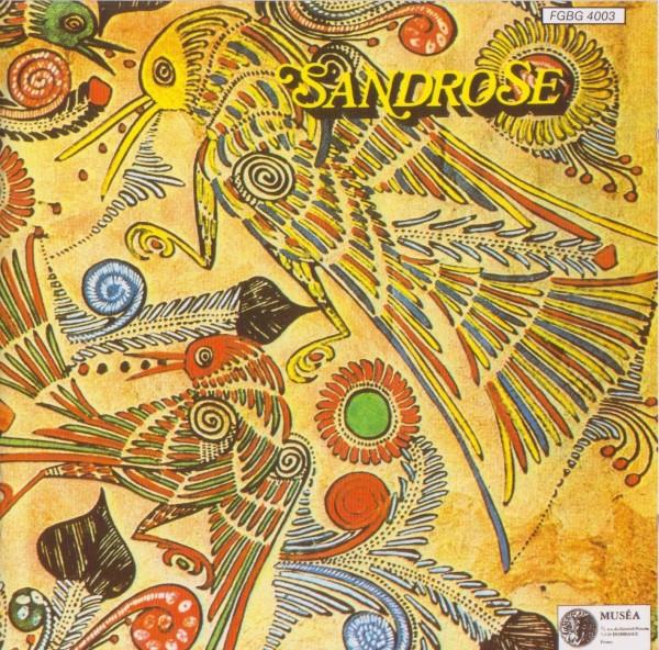 Sandrose - Sandrose CD (album) cover