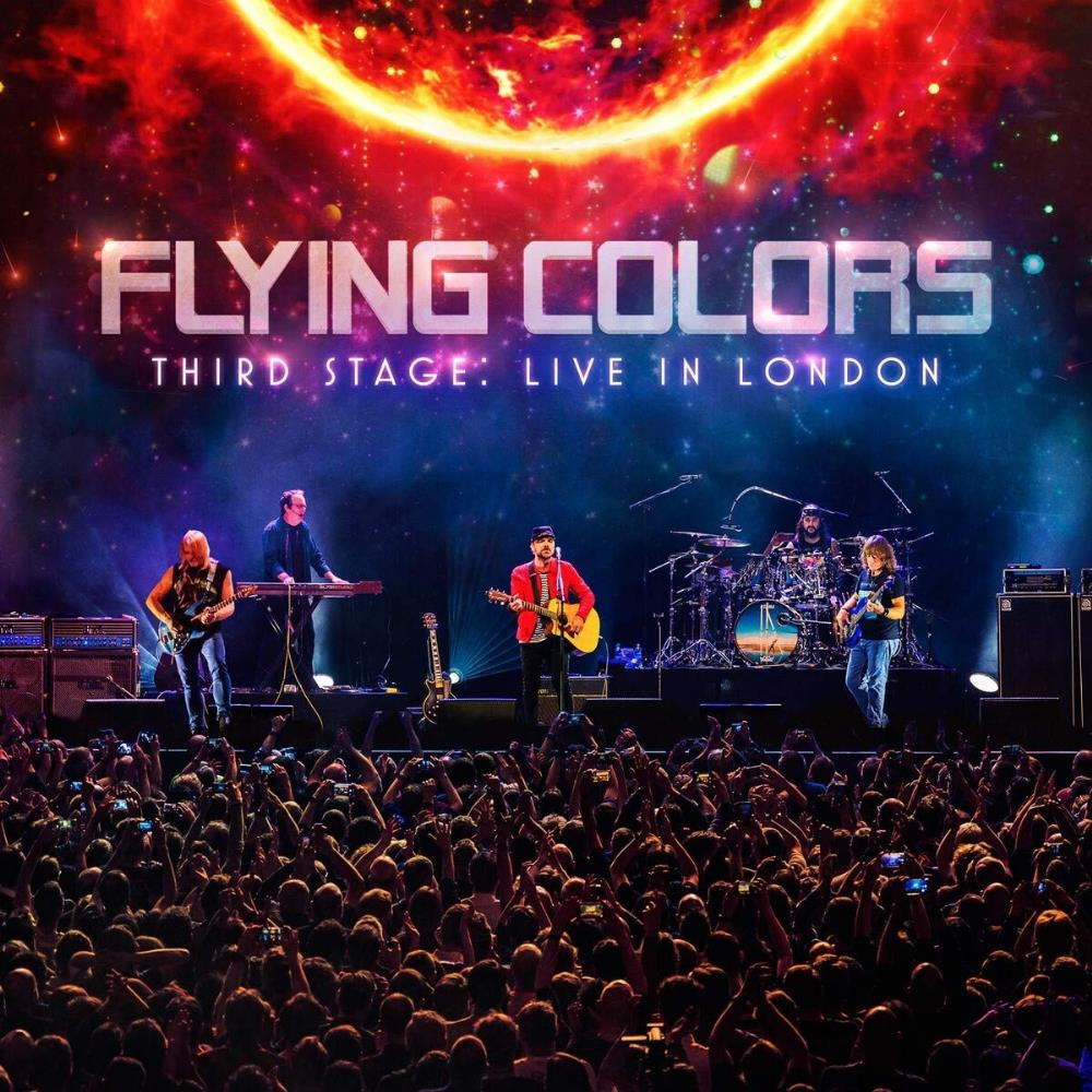 Third Stage: Live in London by FLYING COLORS album cover