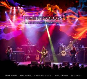 Second Flight: Live At The Z7 by FLYING COLORS album cover
