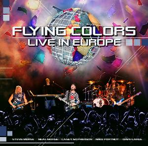 Live In Europe by FLYING COLORS album cover
