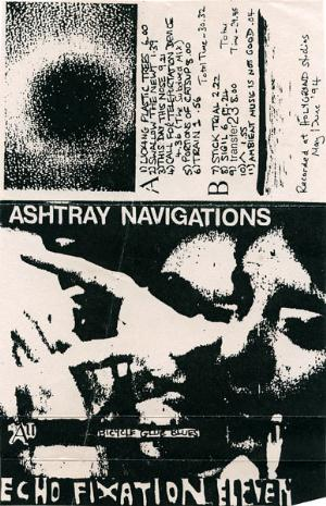 Ashtray Navigations Bicycle Glue Blues album cover