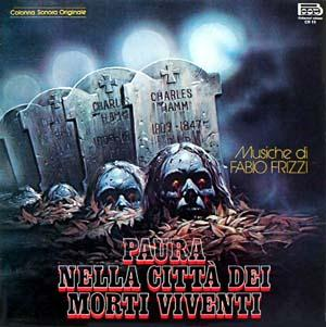 Fabio Frizzi Paura nella citt� dei morti viventi (City of the Living Dead) O.S.T. album cover
