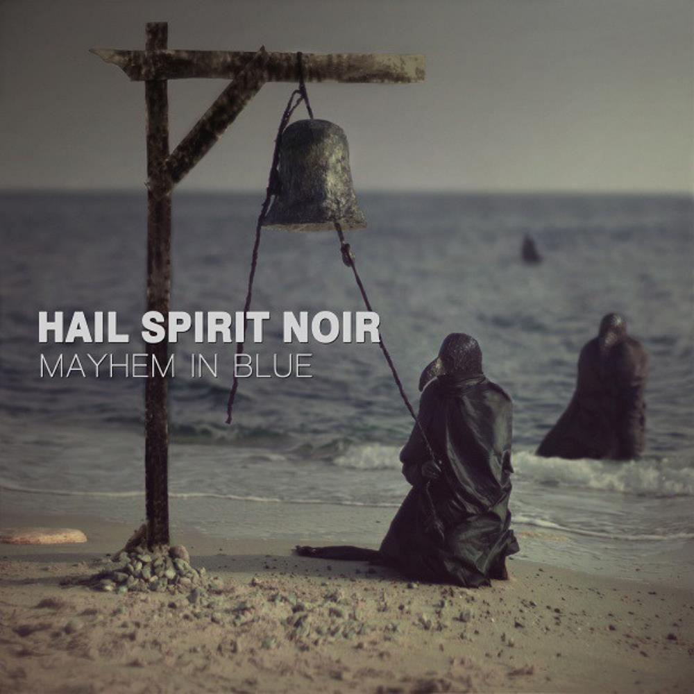 Mayhem In Blue by HAIL SPIRIT NOIR album cover