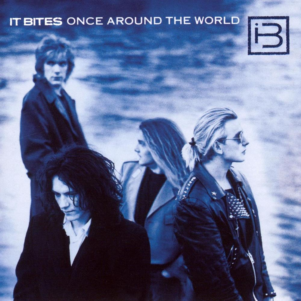 Once Around The World by IT BITES album cover