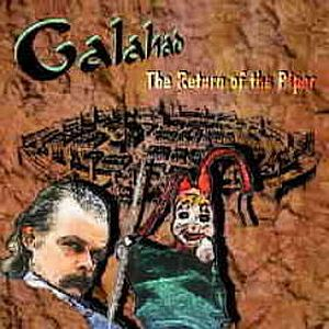 Galahad The Return of the Piper album cover