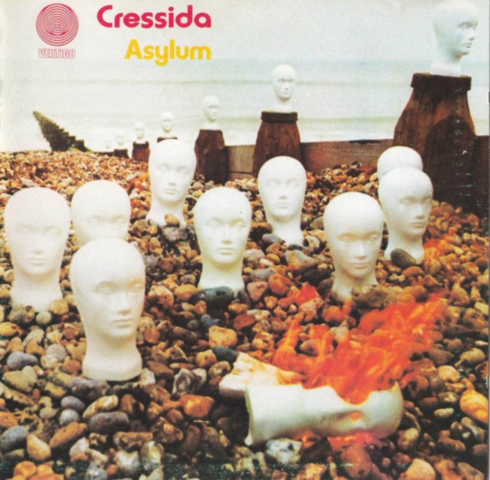 Asylum by CRESSIDA album cover
