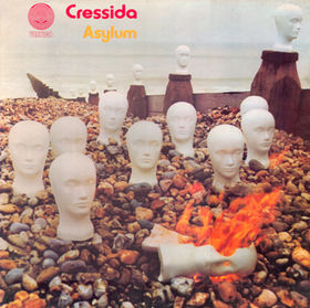 Cressida - Asylum CD (album) cover