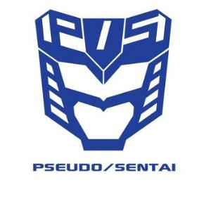 Pseudo/Sentai - Blue Solo Mission: Making a Hole in the Center of the First Outside Planet CD (album) cover