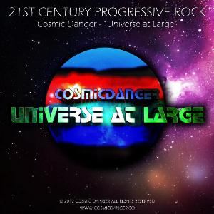 Universe at Large by COSMIC DANGER album cover