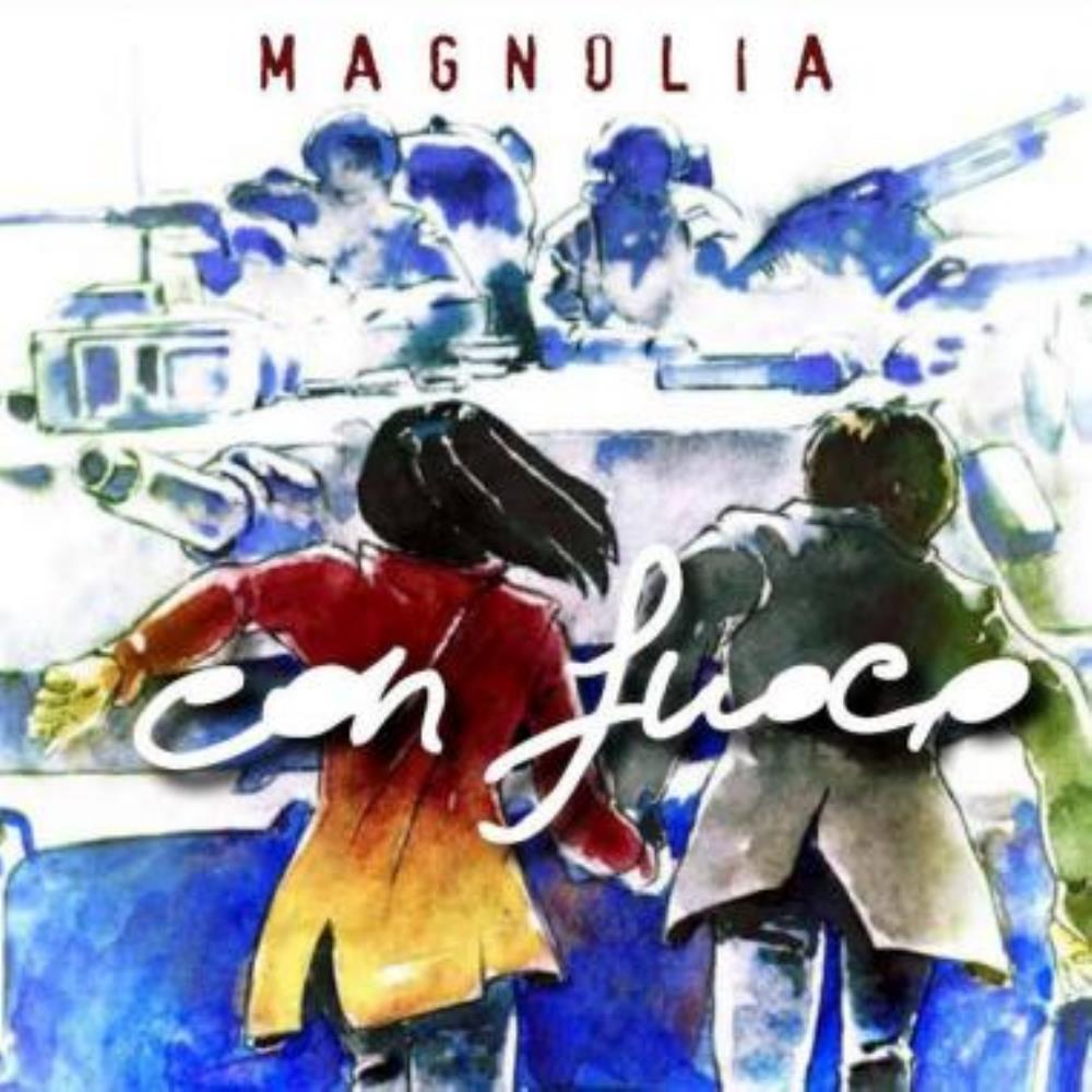Magnolia - Con Fuoco CD (album) cover