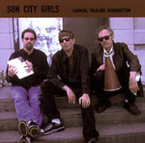 The Handsome Stranger (Carnival Folklore Resurrection vol. 8) by SUN CITY GIRLS album cover