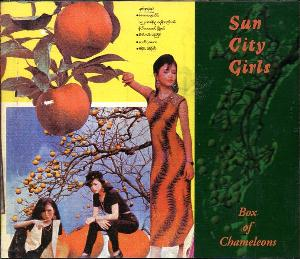 Box of Chameleons by SUN CITY GIRLS album cover