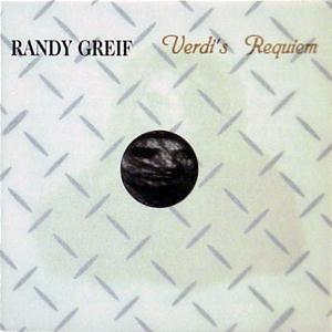 Randy Greif Verdi's Requiem  album cover