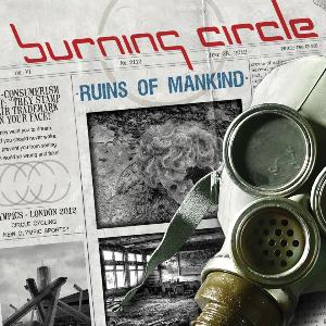 Burning Circle Ruins Of Mankind album cover