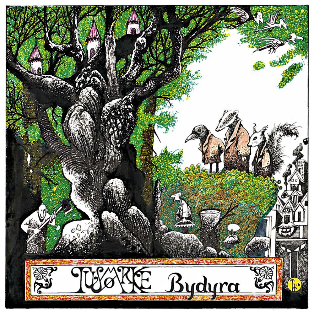 Bydyra by TUSMØRKE album cover