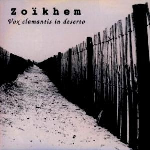 Vox Clamantis In Deserto by ZOIKHEM album cover