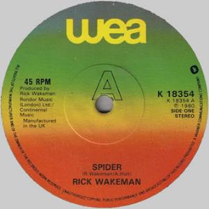 Rick Wakeman Spider album cover