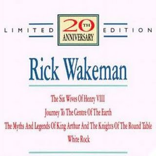 Rick Wakeman 20th Anniversary Limited Edition album cover