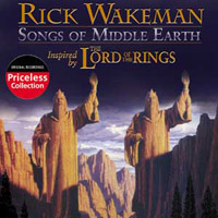 Rick Wakeman Songs Of Middle Earth album cover