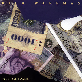 Rick Wakeman Cost of Living  album cover