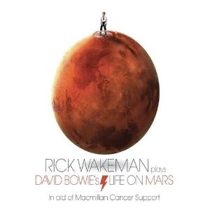 Life on Mars by WAKEMAN, RICK album cover