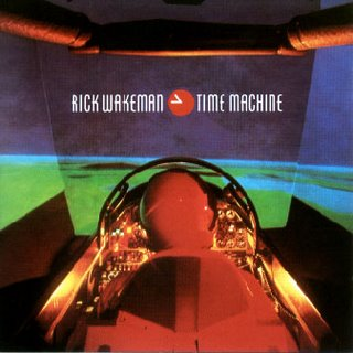 Rick Wakeman Time Machine album cover