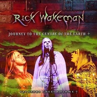 Rick Wakeman Treasure Chest Volume 7 - Journey to the Centre of the Earth +  album cover