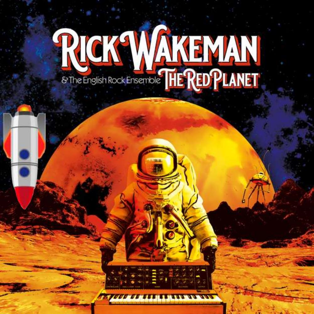 The Red Planet by WAKEMAN, RICK album cover