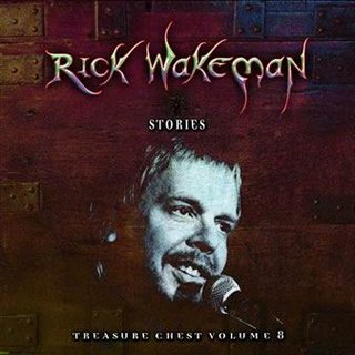 Rick Wakeman Treasure Chest Volume 8 - Stories album cover