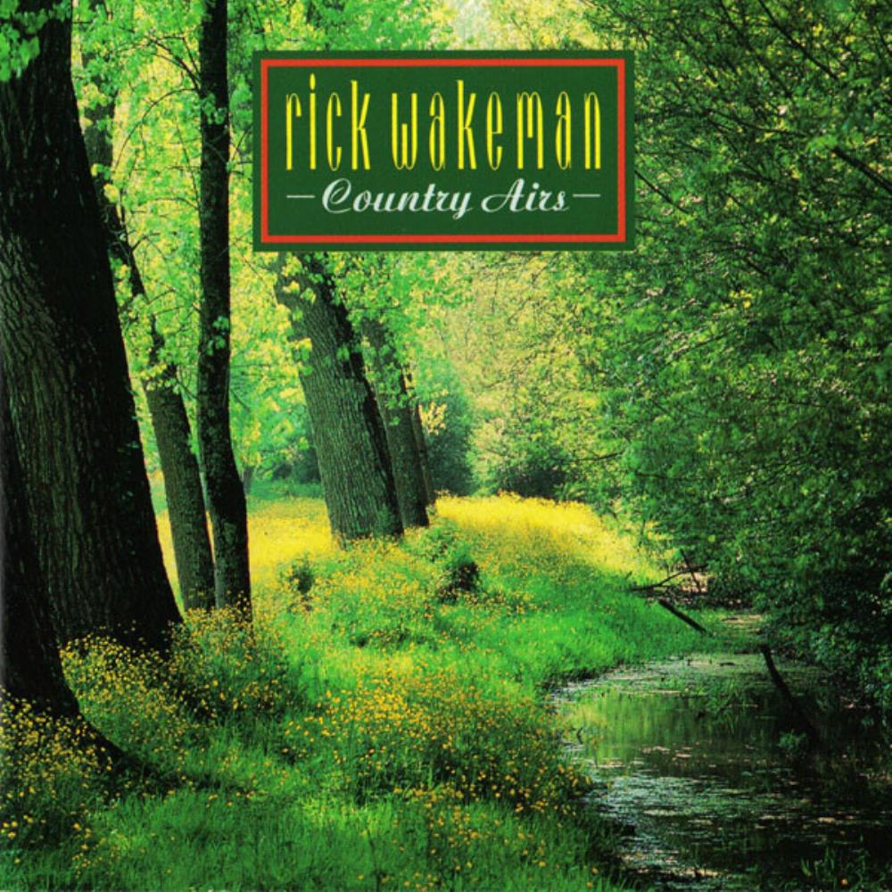 Rick Wakeman Country Airs (1992) album cover