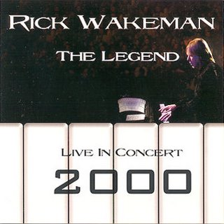 Rick Wakeman - The Legend - Live in Concert 2000  CD (album) cover