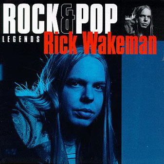 Rick Wakeman Rock & Pop Legends album cover