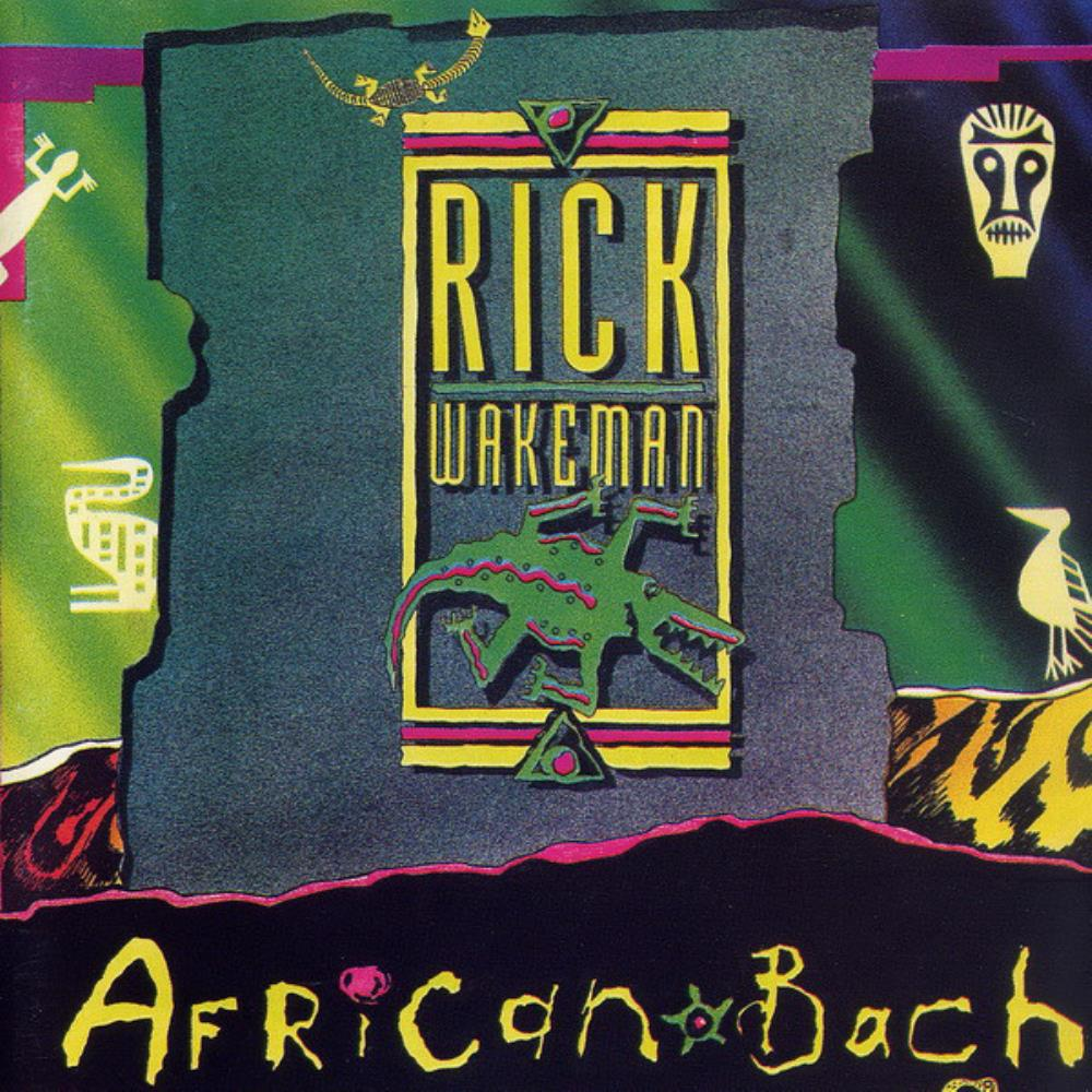 Rick Wakeman African Bach album cover