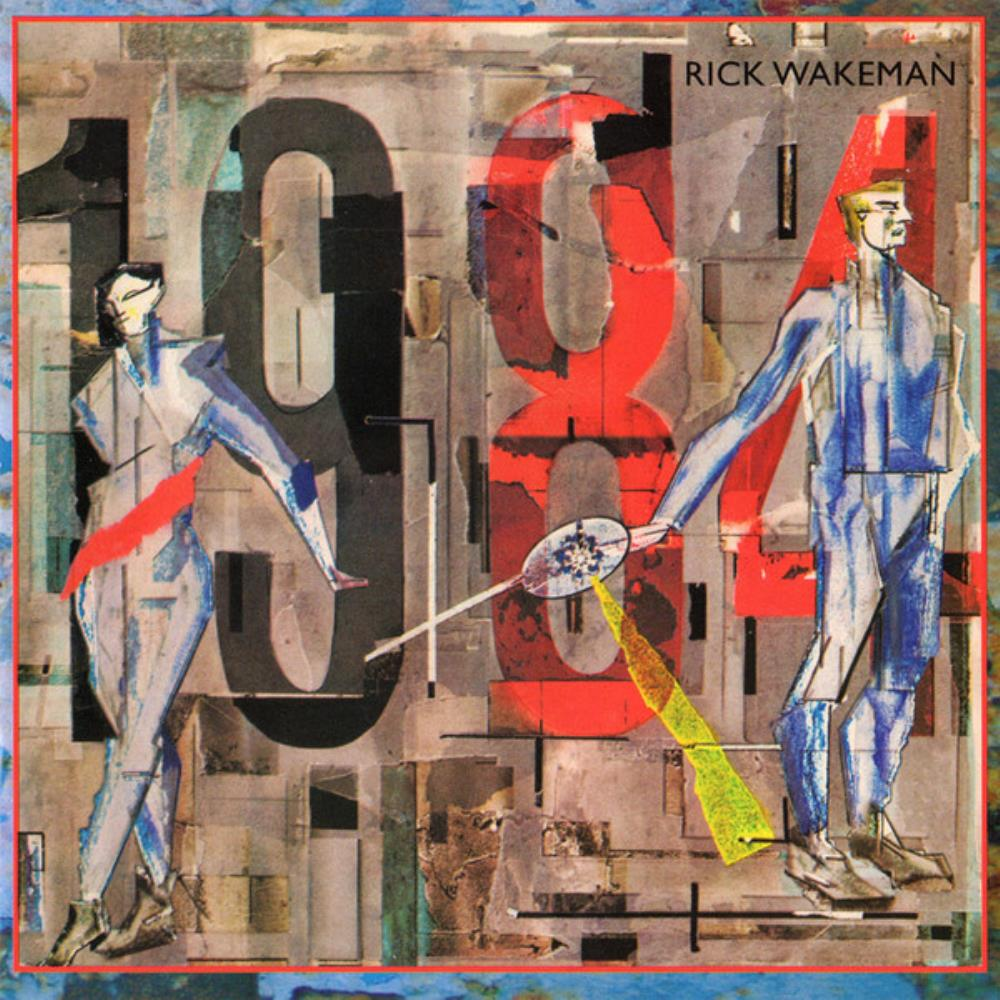 Rick Wakeman - 1984 CD (album) cover