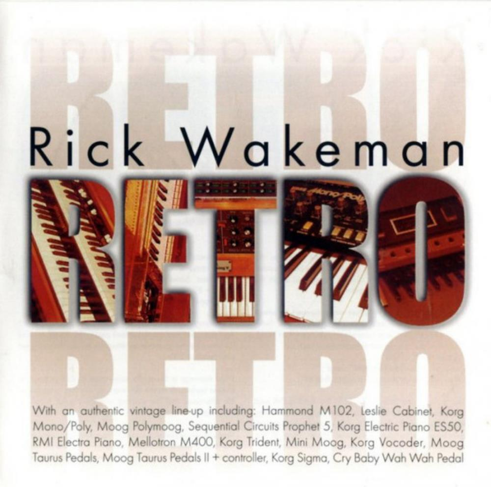 Rick Wakeman Retro album cover