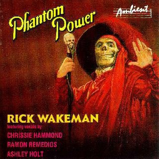 Rick Wakeman Phantom Power album cover