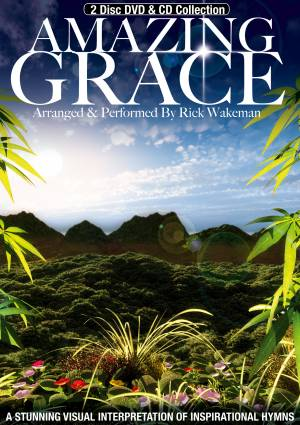 Rick Wakeman Amazing Grace album cover