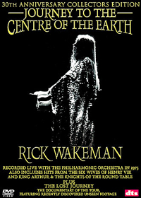 Rick Wakeman - Journey To The Centre Of The Earth (DVD) CD (album) cover