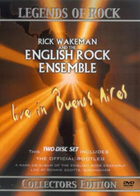 Rick Wakeman - Rick Wakeman And The English Rock Ensemble: Live in Buenos Aires (DVD) CD (album) cover