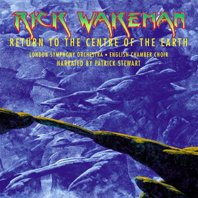 Rick Wakeman Return To The Centre Of The Earth album cover