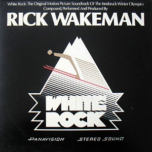 Rick Wakeman - White Rock  CD (album) cover
