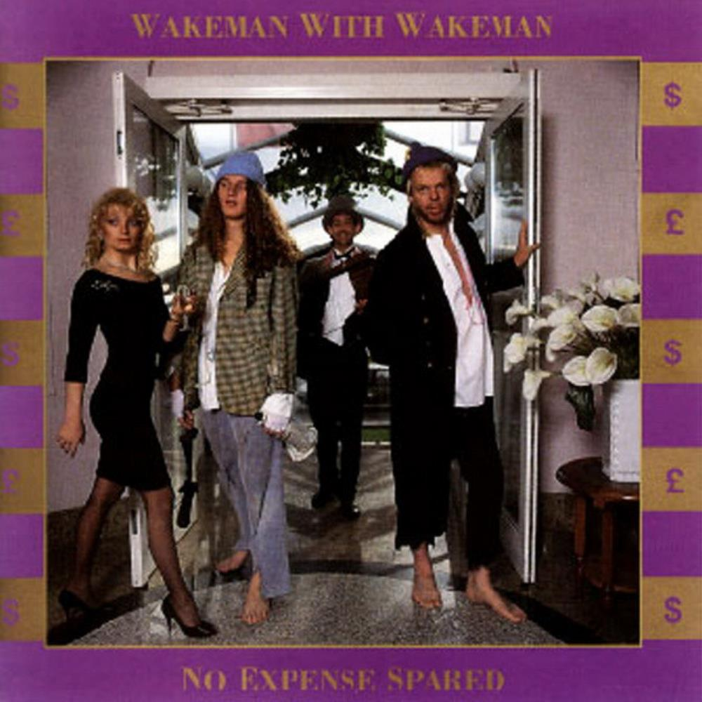Rick Wakeman Wakeman With Wakeman: No Expense Spared album cover