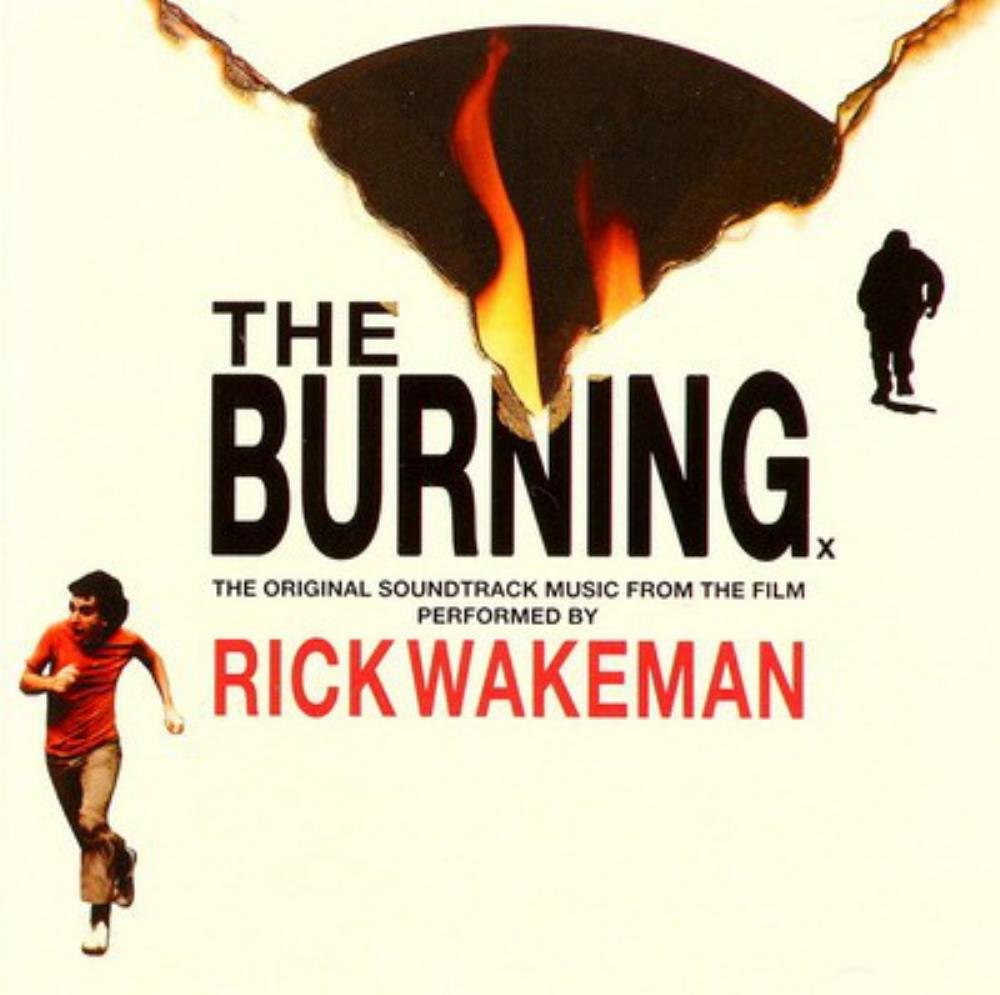 Rick Wakeman - The Burning (OST) CD (album) cover