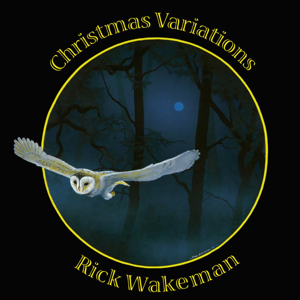 Rick Wakeman - Christmas Variations CD (album) cover