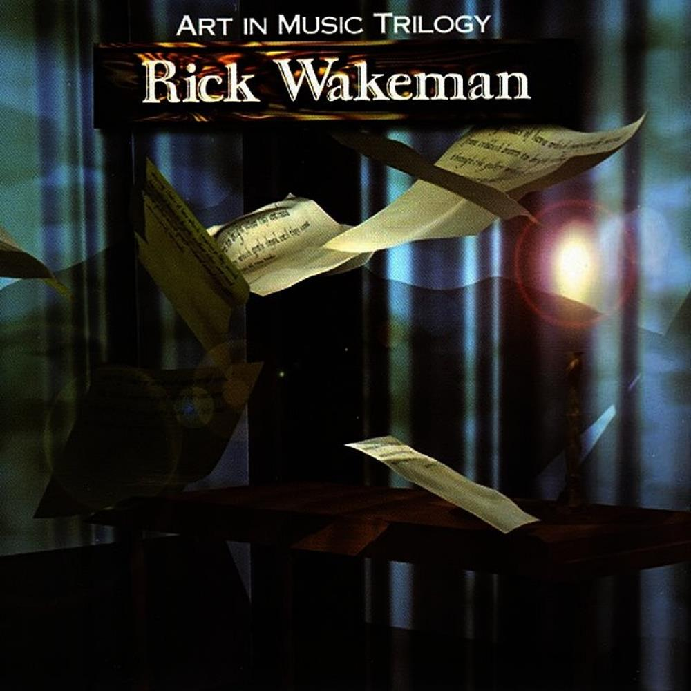 Rick Wakeman - Art In Music Trilogy CD (album) cover